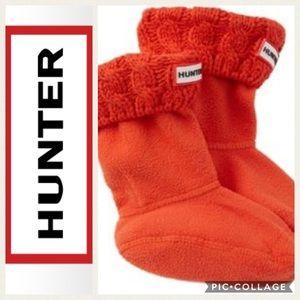 🧡KIDS!! Hunter Original 6 Stitch Cable Boot Socks